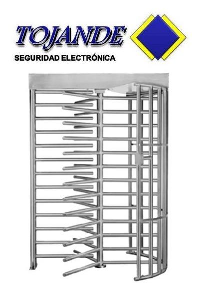 Puerta Giratoria Para Control De Acceso - Tojande
