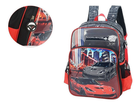 Mochila Infantil Escolar Up4you Carros 009380