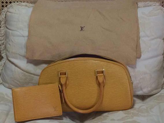 Raridade: Bolsa E Carteira Louis Vuitton Epi Lether Amarela