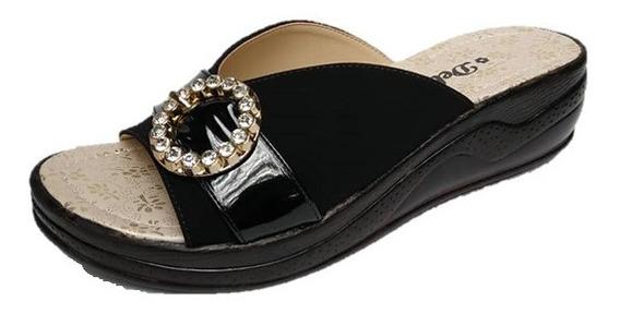 Sandalias De Dama Tacon Bajo