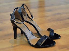 a8e3875effa Sandalias Salto Alto Fino E Com Brilho - Sapatos no Mercado Livre Brasil