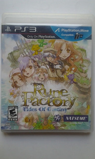 Ps3 Rune Factory Tides Of Destiny $549 Pesos Usado Mikegames