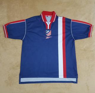 Gcr01 Camisa Oficial Atlético De Madrid 1999/2000 Eg 80x64