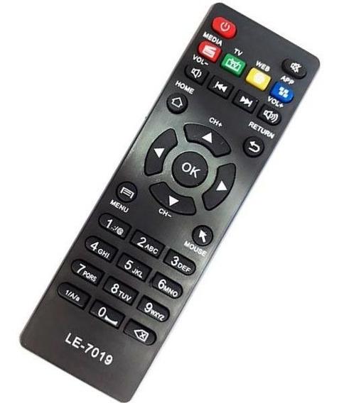 Controle Remoto Le 7019 Tv Box Novo