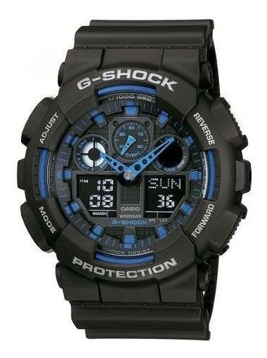 Reloj G-shock Hombre Negro Ga-100-1a2dr