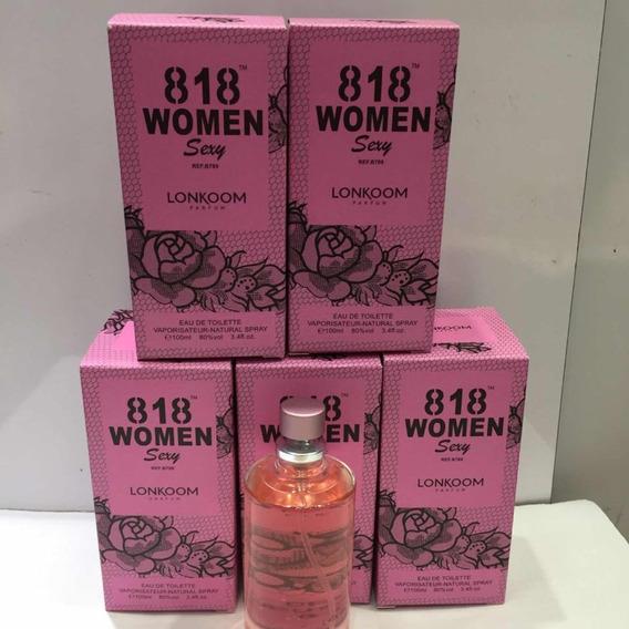 Perfume 818 Sexy Woman De 100ml