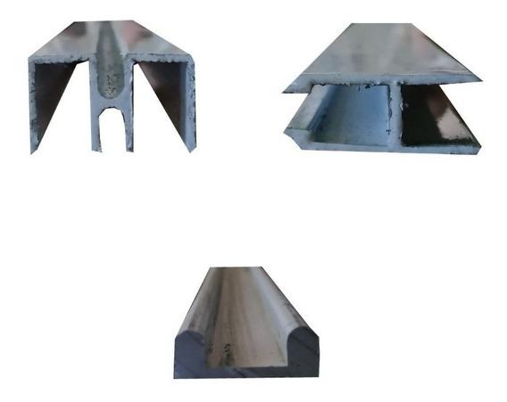Perfil Vitrina De Aluminio (kit)
