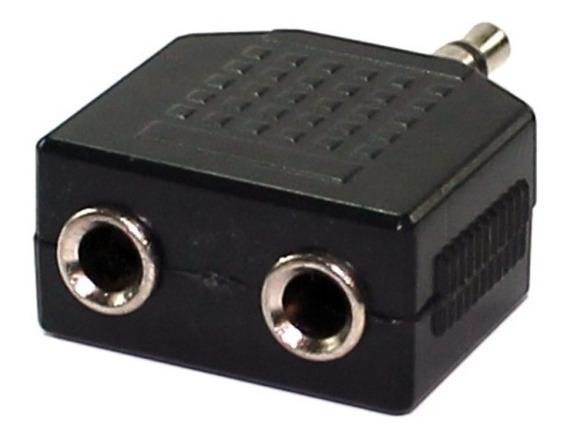 Adaptador P2 Dslr P/ 2 P2 (femea) Microfone