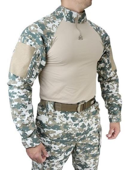 Farda Militar Tático Hrt Digital Cerr Tactical Dacs Original
