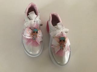 Zapatos Botas Lol Surprise Minnie Con Luces Para Niñas