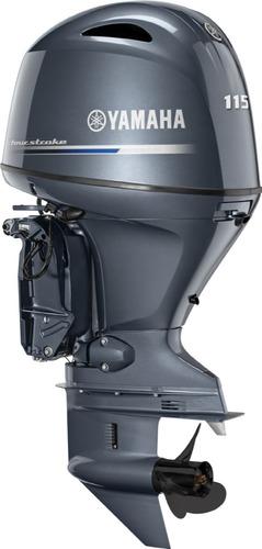 Imagem 1 de 8 de Motor De Popa Yamaha F115 Betl 4 Tempos