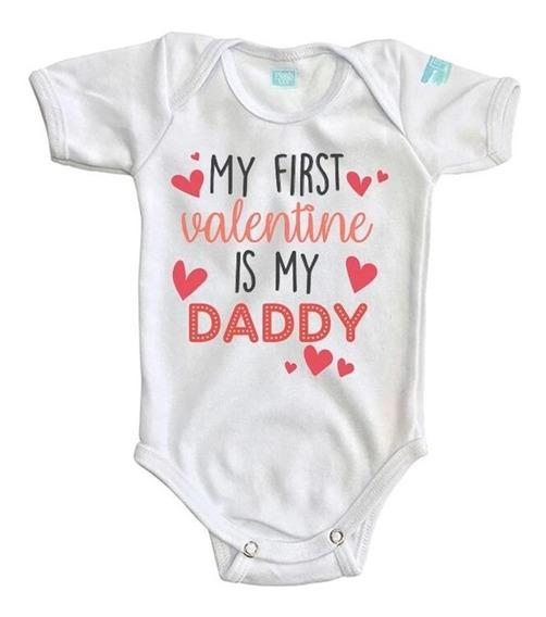 Pañalero My First Valentine Is My Daddy San Valentín Bebé