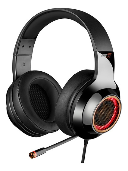 Headset Gamer 7.1 Virtual Edifier G4pro Hecate Preto Gold