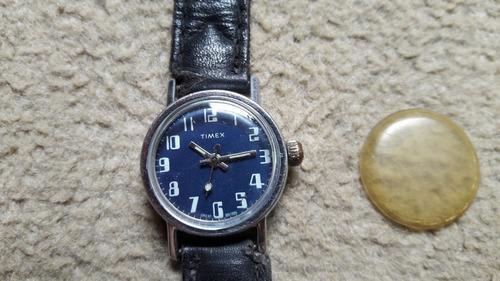 Relógio De Pulso Timex- Anos 70.