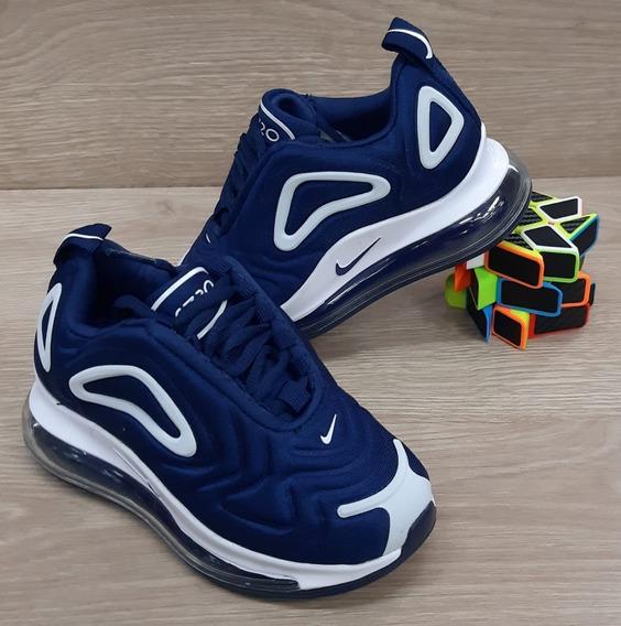 zapatillas nike 720 niño azul