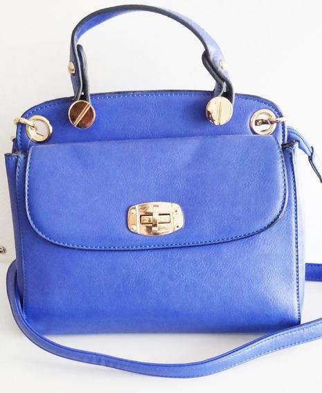 Bolsa De Mão Haute Pequena Azul