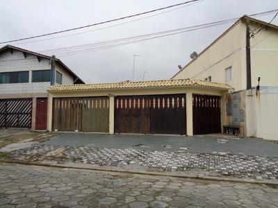Casa Em Mongaguá Lado Praia R$ 150 Mil Ref 4989 C