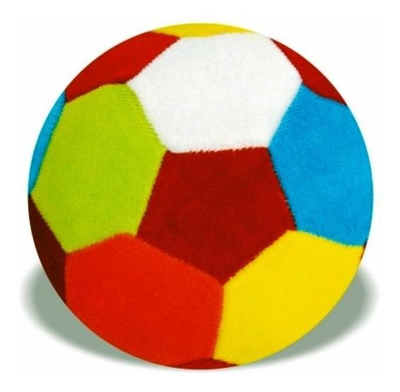 Bola De Pelúcia Com Chocalho - 12cm De Diâmetro - Soft Toys
