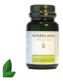 Ginseng Rojo 60 Cápsulas - Energizante Natural