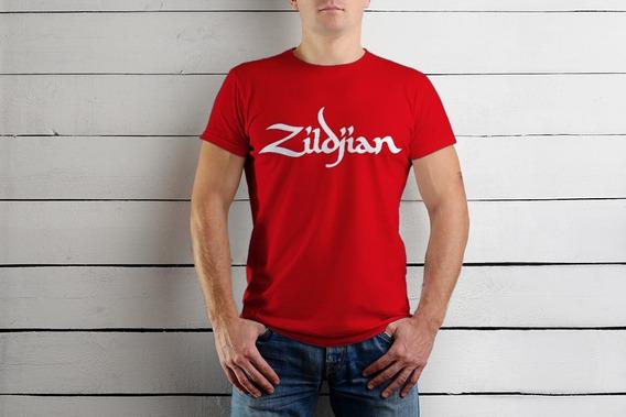 Playera Zildjian Baterista Músicos Colores Envio Gratis