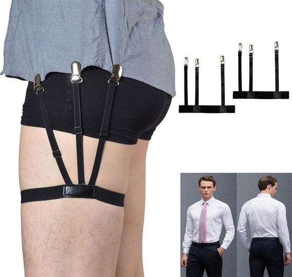 Suspensório Cinta Liga T Holder Masculino Segura Camisa