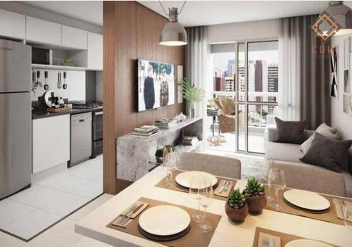 Apartamento Com 2 Dormitórios À Venda, 61 M² Por R$ 695.000,00 - Chácara Santo Antônio (zona Sul) - São Paulo/sp - Ap52984