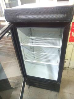 Refrigerador Chico Para Tienda Puerta De Vidrio
