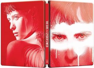 Blu Ray Steelbook A Garota Na Teia Da Aranha - Legendado. La