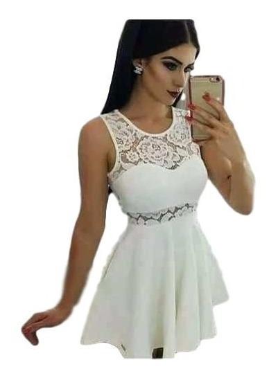 Vestido Rodado Princesa,cintura Marcada Com Renda Lindo