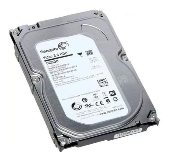 Hd 1tb Sata 3 Seagate 3.5 P/ Dvr Pc Desktop Novo - Envio Já!
