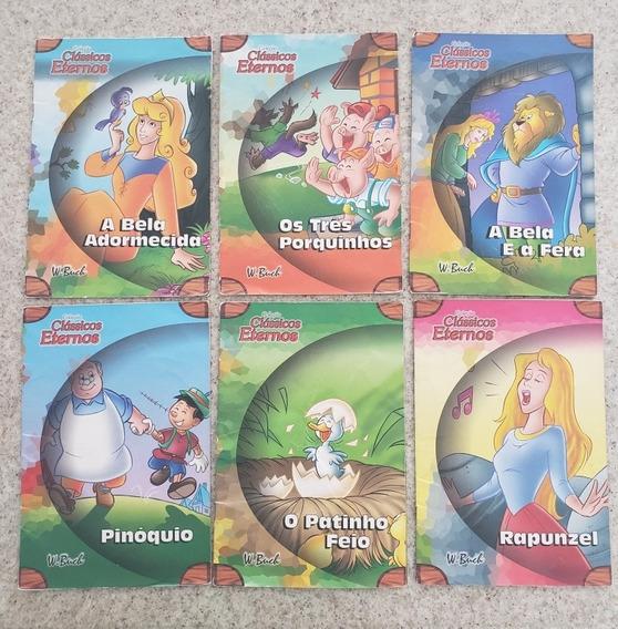Lote 17 Livros Infantis - Contos Clássicos