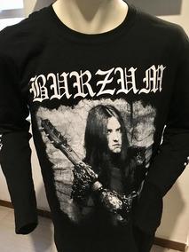 Burzum Anthology 2018 Long Sleeve T-shirt L Merch Official