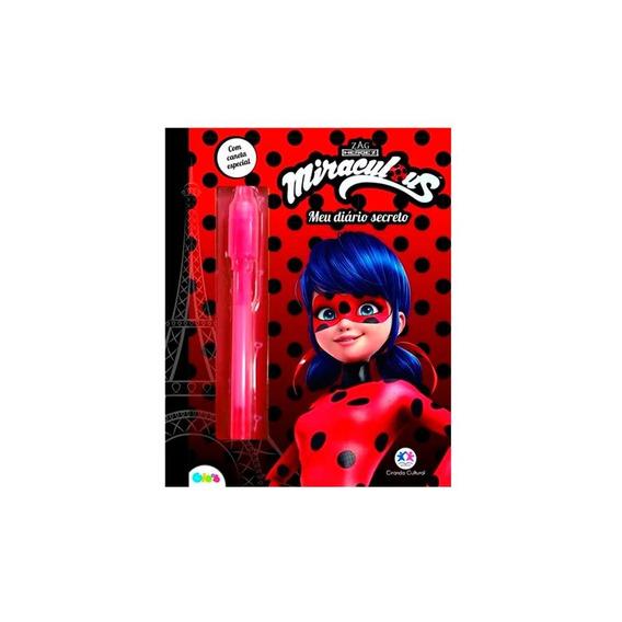 Diário Ladybug - Meu Diário De Segredos - Ciranda Cultural