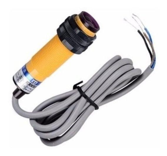 Kit 5x Sensor Difuso Npn E3f-ds30c4 M18 30 Cm 6-36 V