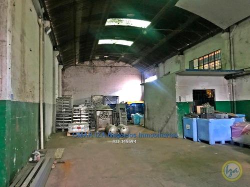 Iza. Venta Local Industrial Sobre General Flores