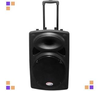 Bafle Parlante Potenciado 30 Cm Embassy Usb Radio Bluetooth
