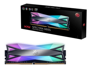 Memoria Ram Xpg Spectrix D60g Ddr4 8gb 3200mhz Pc4-25600