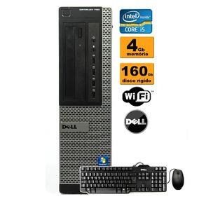 Cpu Dell Optiplex 790 Core I5 4gb Hd160gb + Teclado Mouse