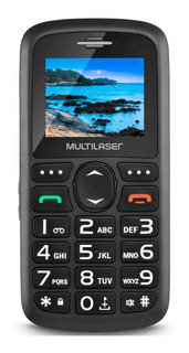 Celular Telefone Básico Para Idoso C/ Tecla Grande Botão Sos