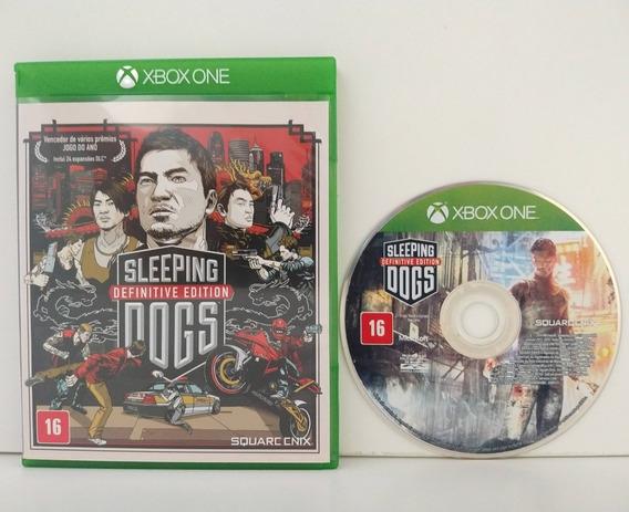 Slepping Dogs Xbox One Mídia Física Completo Original