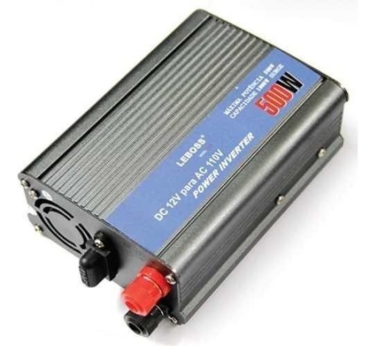 Inversor 12v - 110v 500w Transformador Conversor Veicular