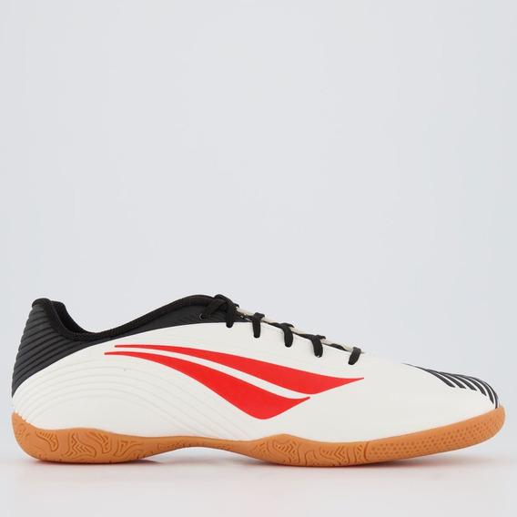 Chuteira Penalty F12 Ix Futsal Branca