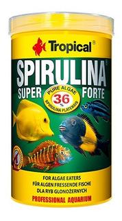 Alimento Peces Super Spirulina Forte Tropical X 50 Grs