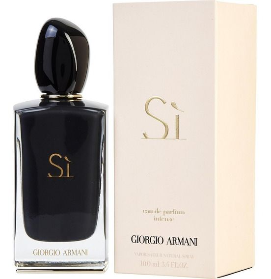 Giorgio Armani Si Intense Edp 100 Ml Original