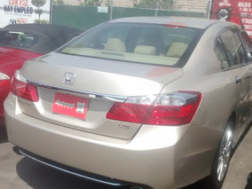 Honda Accord 3.5 Ex-l Sedan V6 Piel Abs Qc Cd Nav Cvt 2013