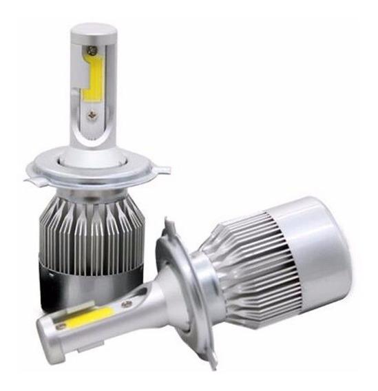 Kit Lampada Led Automotivo 72w 6000k 8200lumens Super Branca