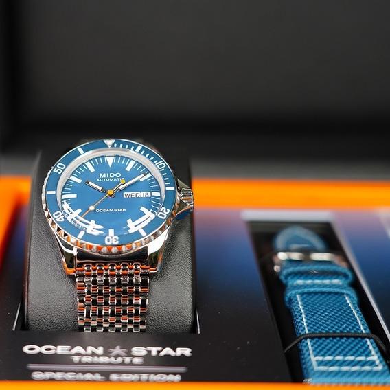 Relógio Mido Ocean Star M0268301104100 Tribute Ed Especial