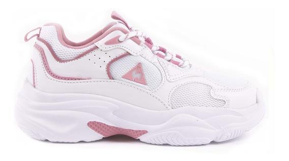 Le Coq Sportif Zapatillas Bayona Jr White Pink 8026