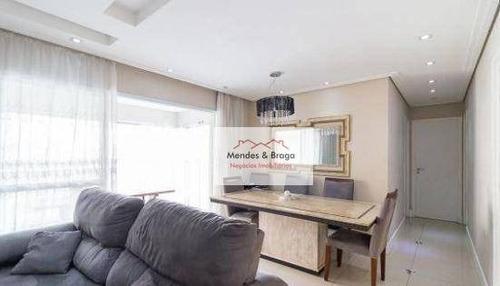 Imagem 1 de 30 de Apartamento À Venda, 86 M² Por R$ 700.000,00 - Vila Augusta - Guarulhos/sp - Ap2035