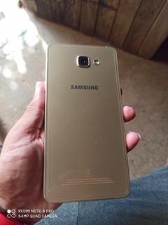 Celular Samsung Galaxy A9 Dourado - Para Peças